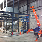 Mezzanine - structural design and construction